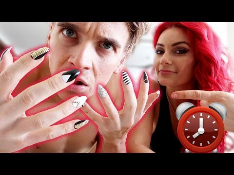 I Wore Fake Acrylic Nails For 24 Hours