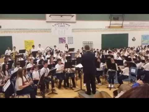 Harbour Pointe Middle School 6th grade advanced band