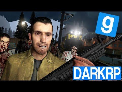 DERNIER TRAIN POUR FUIR LES ZOMBIES ! 2/2 - Garry's Mod DarkRP