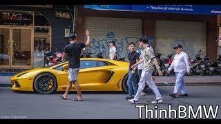 Mr. Cường và 4 chiếc Siêu Xe náo loạn Phố Đi Bộ Nguyễn Huệ thế nào ??