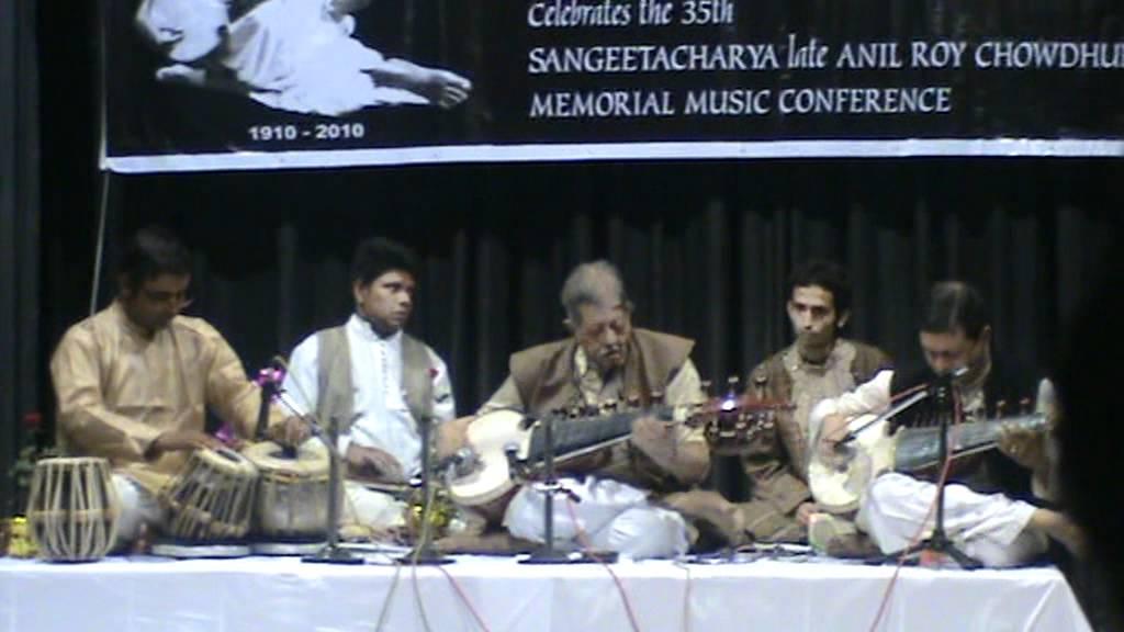 Raag Jayjayanti by Pt Buddhadev Dasgupta with Soumitra Dasgupta on tabla part 2