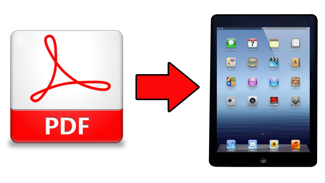 how to send a pdf file on ipad