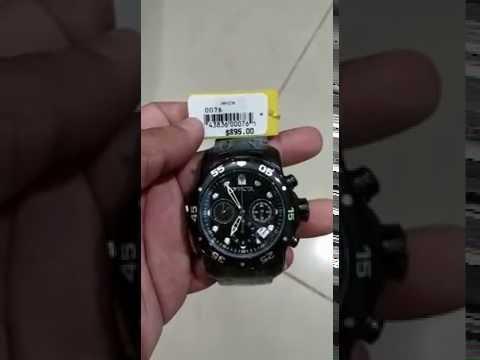 79ae2d811c5 Relógio Invicta Pro Diver 0076 - Mercado Livre - YouTube