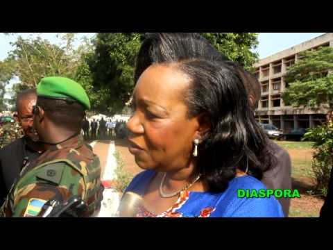Catherine SAMBA PANZA MESSAGE 29 Mars 2014