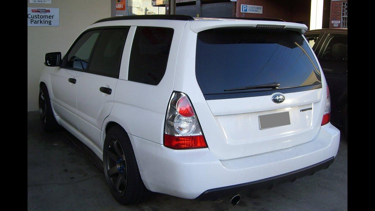 Modified Subaru Forester Xt Wagon Turbocharged 2nd