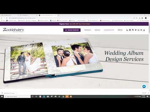 Zookbinders - Wedding Photo Album Design Service Overview