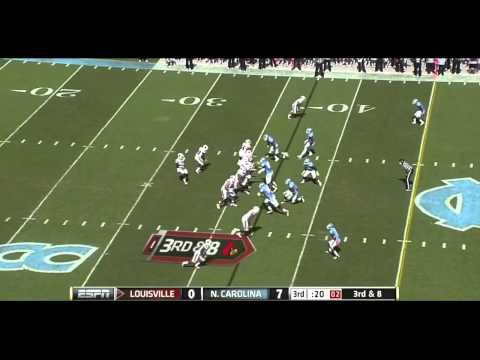 Sylvester Williams vs Louisville and Miami 2011