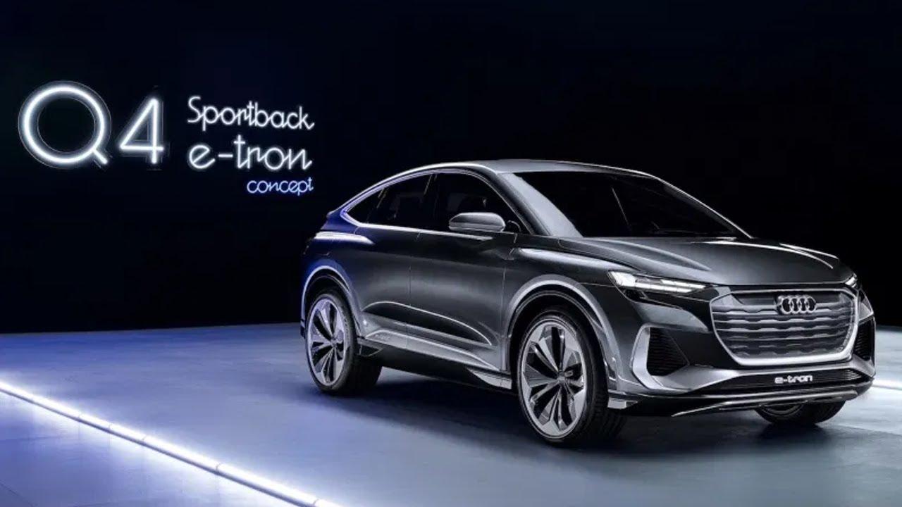 2021 audi q4 sportback e-tron concept reveled - interior