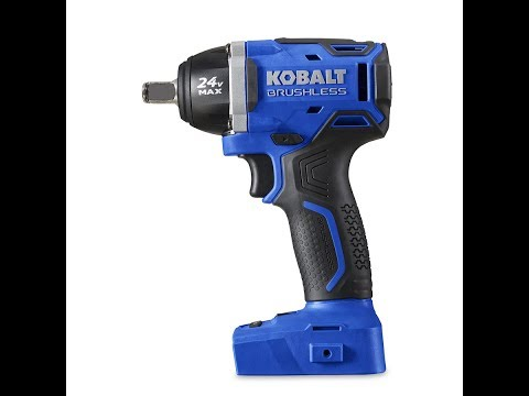 "Kobalt 24-Volt 1/2"" Drive Cordless Compact Impact Wrench Review...Wow!"