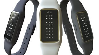 Dot Braille Smart Watch - Modern Industrial Design