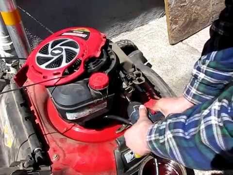 Toro lawnmower choke air vane spring replacement funnycat tv for Briggs and stratton motor locked up