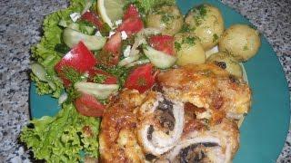 Простые рецепты, рулетики из свинины с грибами | Irina Belaja