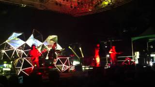 "YEASAYER live in New York ""Reagan"
