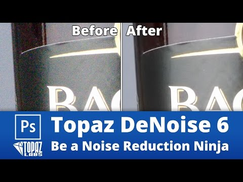 Topaz DeNoise 6 - How to Be a Noise Reduction Ninja