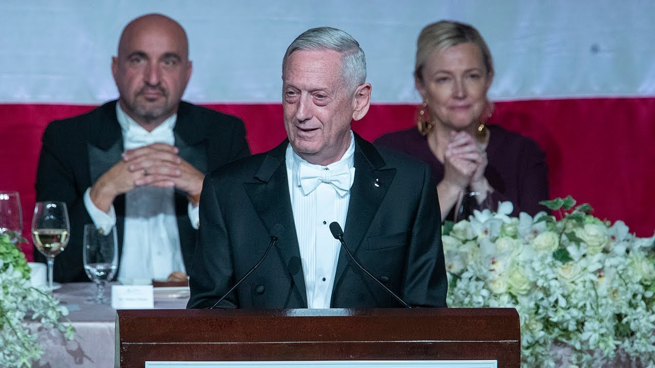James Mattis mocks Donald Trump for not fighting in Vietnam