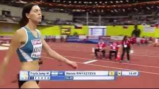 Анна Князева 14.49 (European Athletics Indoor Championships 2015)