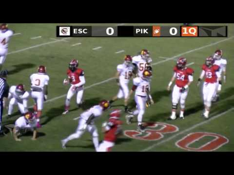 Escambia Academy vs. Pike Liberal Arts October 16, 2015.
