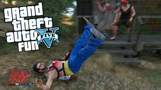 GTA 5 Next Gen Fun With Wildcat - Submarine Plane, Hair Glitch, Electrocution (GTA V Funny Moments)
