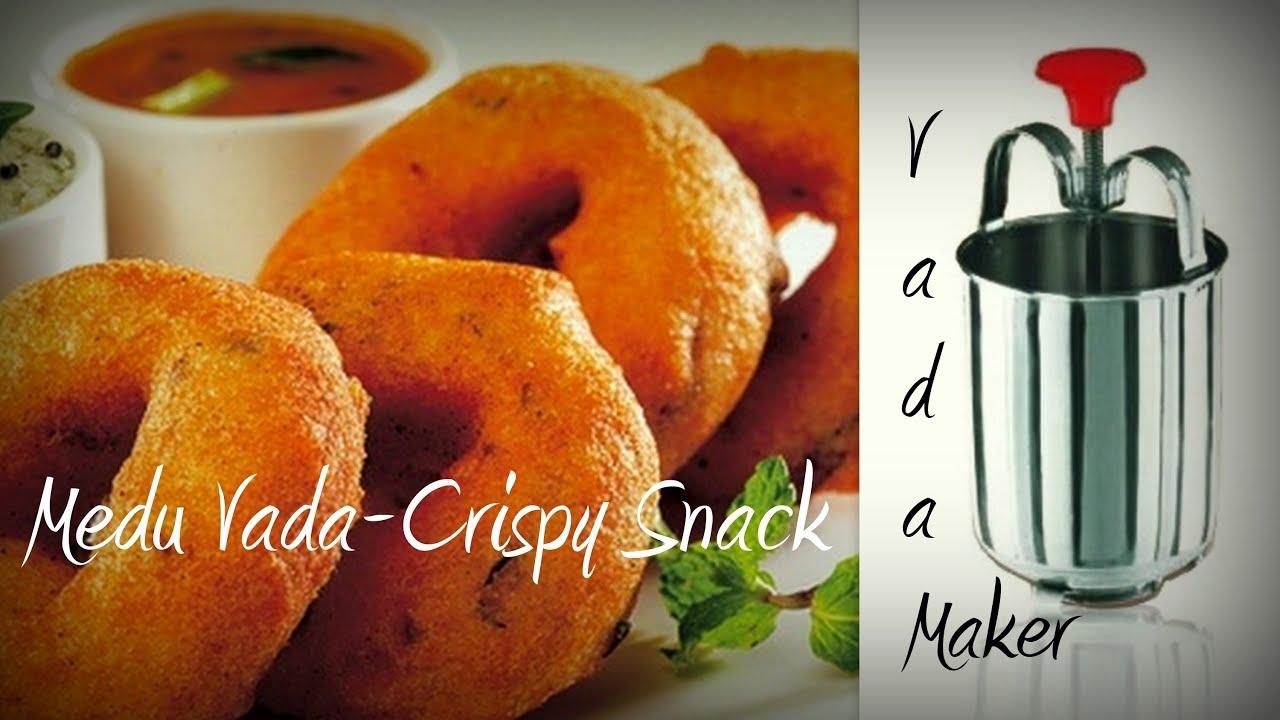 Medu vada recipe easycookingwithekta medu wada sambhar recipe youtube forumfinder Choice Image