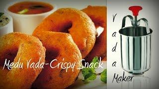 Medu vada recipe- Easycookingwithekta-Medu Wada Sambhar Recipe