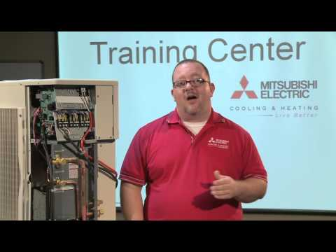 1-Time Flash & E6 error troubleshooting, part 1 of 3 for Mitsubishi Electric Cooling & Heating