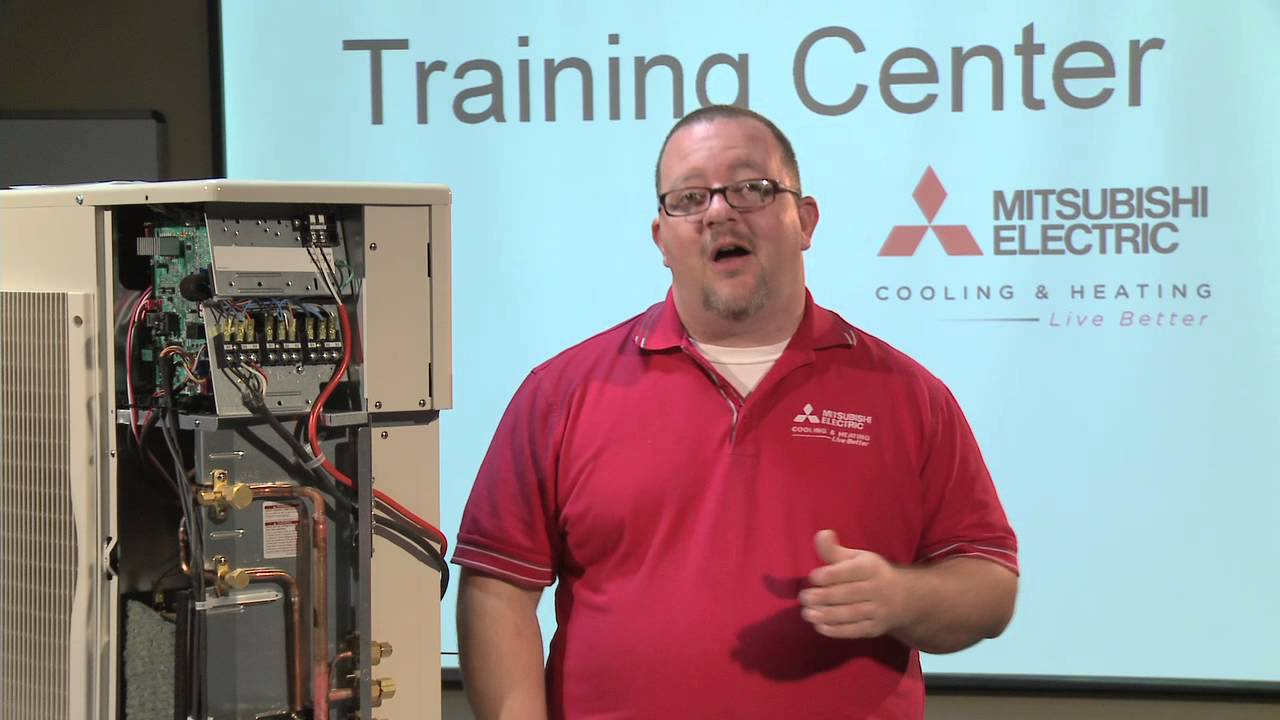 medium resolution of 1 time flash e6 error troubleshooting part 1 of 3 for mitsubishi electric cooling heating youtube