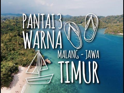 Explore Pantai 3 Warna Malang