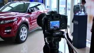 """""""ТрансМиссия-ТВ"""" презентация салона Land Rover"""
