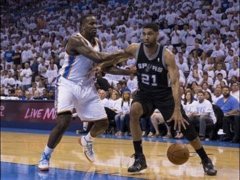 Tim Duncan's Double-Double Leads the Spurs to the Finals