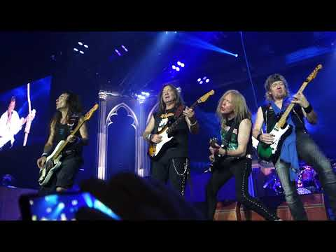 Iron Maiden - Hallowed Be Thy Name Live @ Hartwall Arena Helsinki 28.5.2018