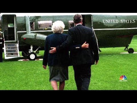 The Remarkable Love Story Of George and Barbara Bush | NBC Nightly News
