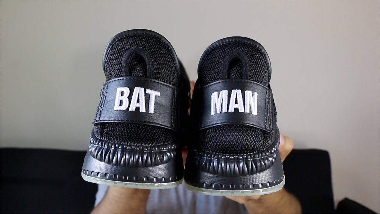 b2f807950fb4b1 Puma X Shoe Palace X Justice League Batman TSUGI Review! - YouTube