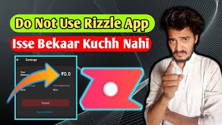 Do Not Use Rizzle App   Rizzle App Mat Use Karna   Rizzle App New Updates 2021   Gott Technical screenshot 1