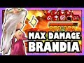BRANDIA MAX DAMAGE WITH 9 DEBUFFS! | Summoners War
