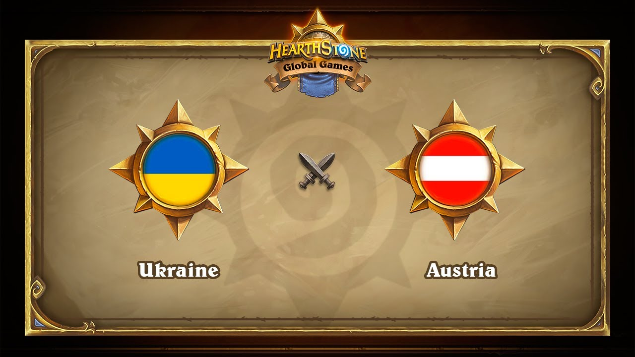 Украина vs Австрия, 1/8, Hearthstone Global Games Playoffs