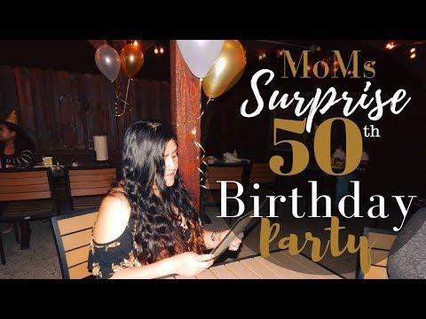 Weekend Vlog | Moms Surprise Birthday Party