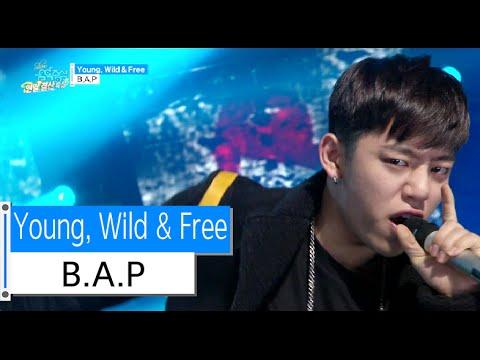 [HOT] B.A.P - Young, Wild & Free, 비에이피 - 영 와일드 앤 프리, Show Music core 20151226