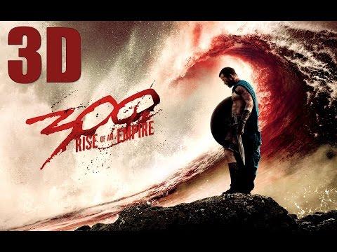 300 : RISE OF AN EMPIRE - First Battle | 3D (HD)