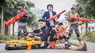 LTT Nerf War : SEAL X Warriors Nerf Guns Fight Criminal Group Dr Lee Reluctant Duty