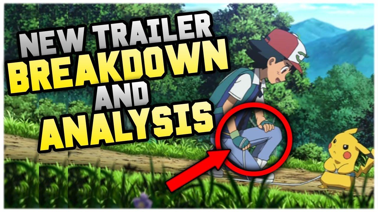 Pokemon The Movie 20 I Choose You New Trailer Breakdown And Analysis Youtube