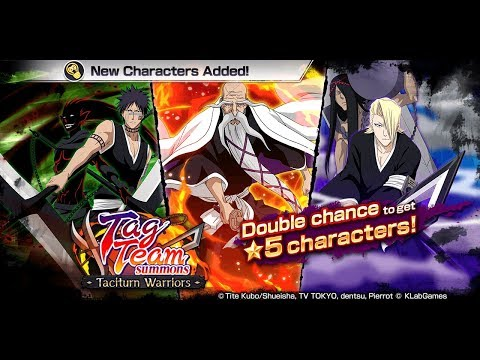 Bleach Brave Souls: Summons Taciturn Warriors Test Play e Notícias - Omega Play