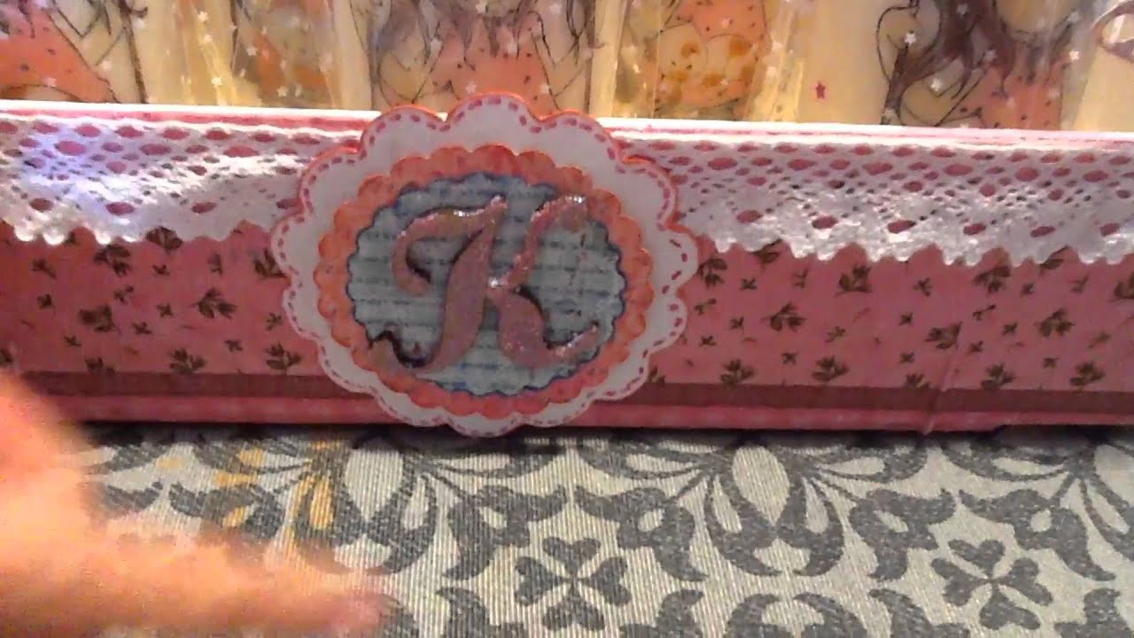 Caja de fresas decorada y recuerdos para comunion youtube - Como decorar cajas de madera para centros de mesa ...