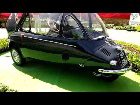 TROJAN 200 BUBBLE CAR DEL 1960 : FOSSANO (CN) 10 - 5 - 2015.