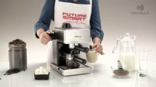 Havells Donato Coffee Maker Demo