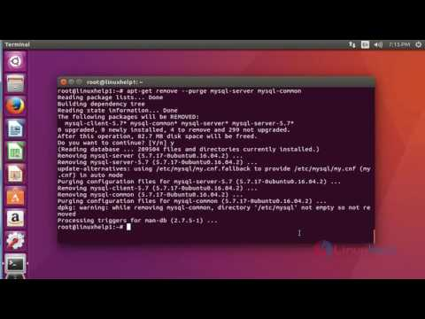 How to remove MySQL package completely on Ubuntu 16.04