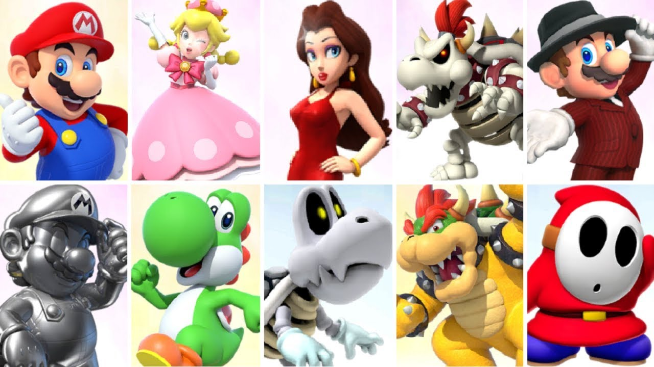 mario kart tour all characters