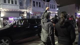 USA: Protests flare up in Philadelphia following police shooting of Walter Wallace
