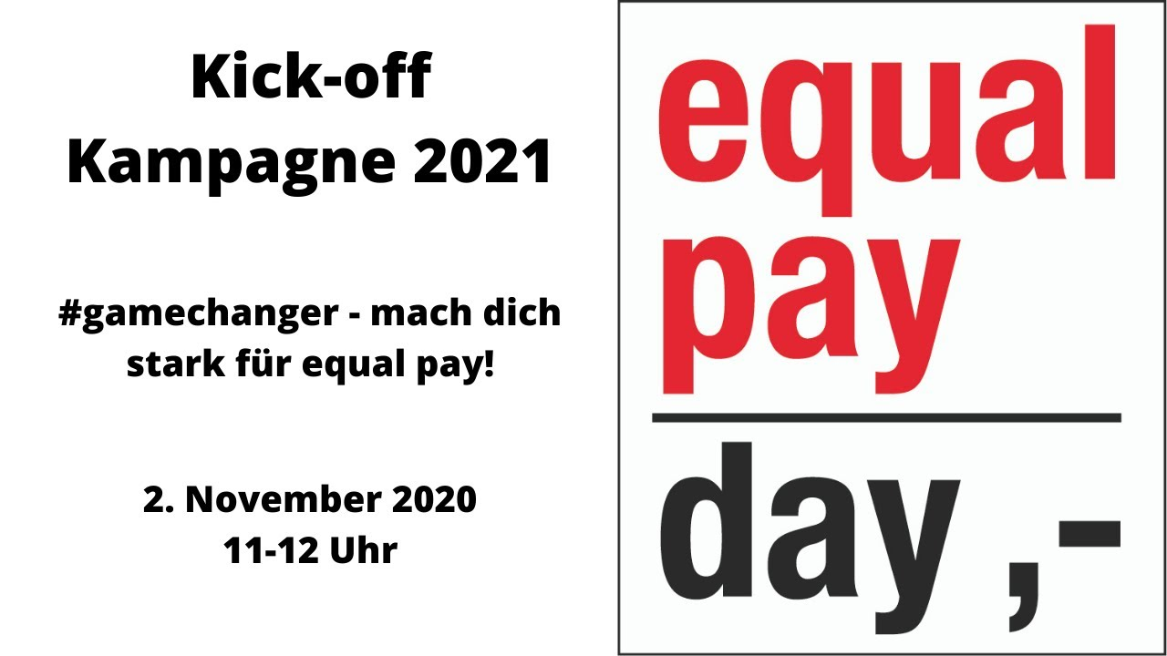 Equal Pay 2021