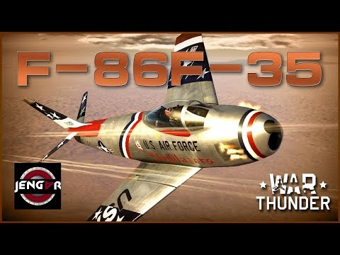 The Pure Sabre Experience! F-86F-35 Sabre [War Thunder Premium Review!]