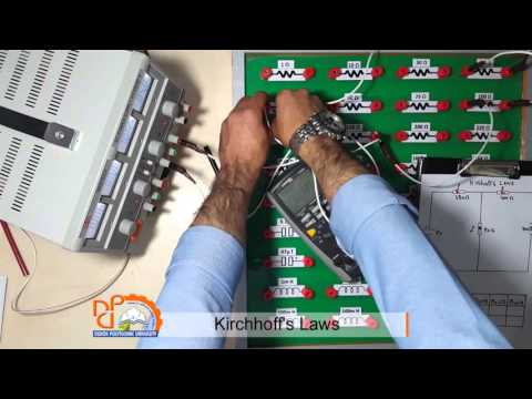 Lecture No.6 Kirchhoff's Laws ( Practical )explained in Kurdish
